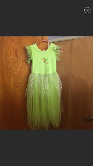 Girls Tinkerbell Costume Set Size 8/10 for Sale in Los Angeles, CA