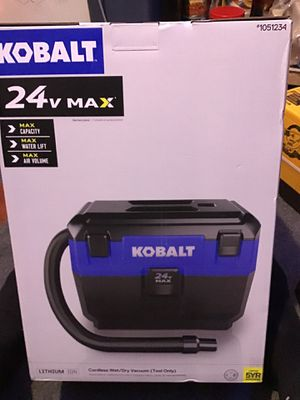 Brand new in Box (unopened) KOBALT SHOP VAC PORTABLE for Sale in Albany, OR