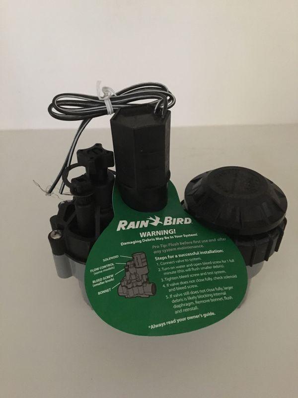 Rain bird sprinkler system valve