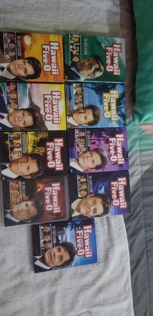 Hawaii five O series 1,2,4,5,6,7,8,9,10 missing only 3,11,12 for Sale in Las Vegas, NV