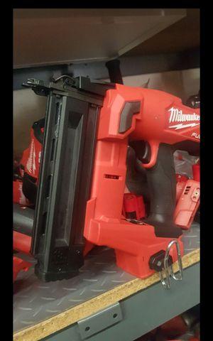 MILWUAKEE M18 FUEL BRUSHLESS 18GA FINISH NILER TOOL ONLY BRAND NEW for Sale in San Bernardino, CA