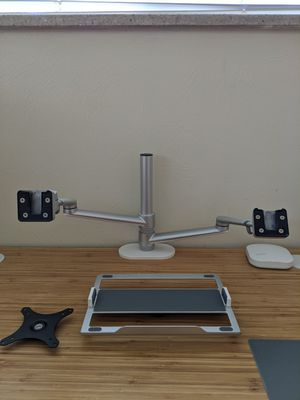 Dual arm monitor/laptop stand for Sale in Centennial, CO