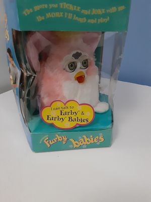 1999 FURBY BABIES MODEL 70-940 PINK WHITE for Sale in Reston, VA