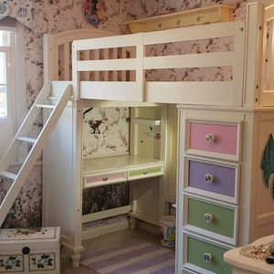 Girls Loft Bed Good Condition for Sale in Greenwich, CT