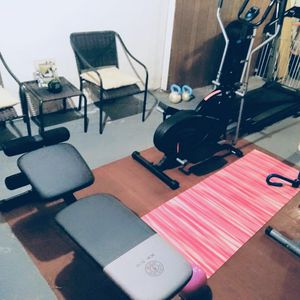 Elliptical and weight bench like brand new for Sale in Buffalo, NY