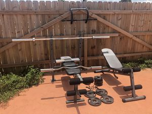 Home Gym Bundle (+Weights Included) for Sale in Miami, FL