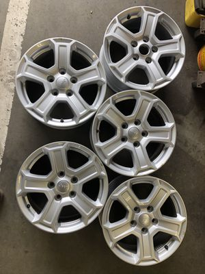 Rims wheels from a 18 Jeep JL for Sale in Downey, CA