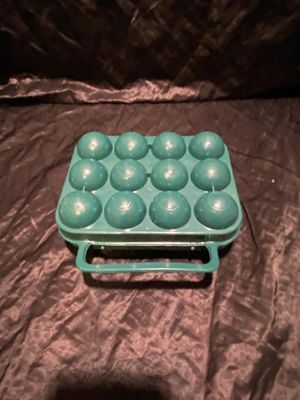 Dozen Egg container holder portable outdoor egg storage box case for camping for Sale in KISSIMMEE, FL