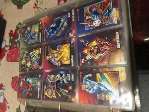 Marvel cards for Sale in Baltimore, MD