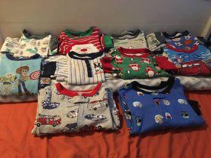 Boys 4t 10 sets pajamas sell trade boys pjs 5-12 for Sale in Auburndale, FL
