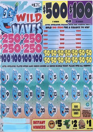 Cash Board - Bingo Pull Tab Tickets for Sale in Tarpon Springs, FL