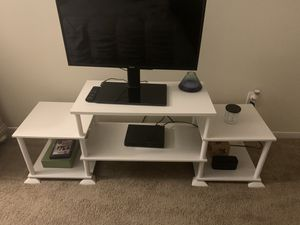 TV stand- 3 cube No-Tool Assembly for Sale in Hamden, CT