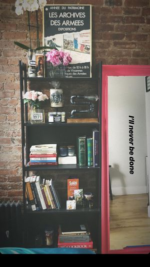 Painted Pink oversized Mirror (bookshelf also 4 sale) for Sale in New York, NY