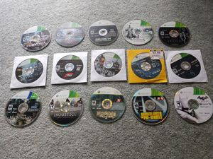 Xbox 360 Game discs lot #1 for Sale in Milford, MI