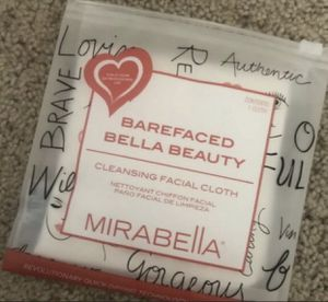 Mirabella Bare Faced Beauty Facial Cleansing Cloth Quick Drying for Sale in Hollywood, FL
