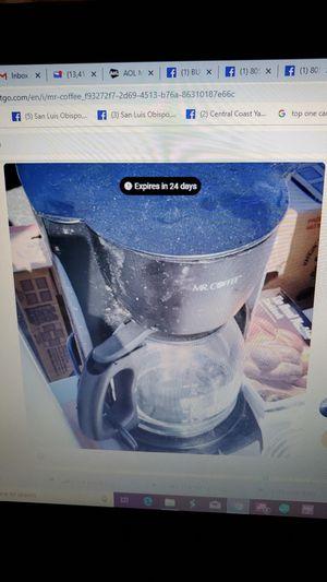 Mr Coffee for Sale in San Luis Obispo, CA