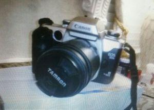 Canon EOS 50E Film Camera with Tamron lense 28-80 mm for Sale in Marietta, GA