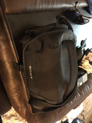 Sony camera bag for Sale in Houston, TX