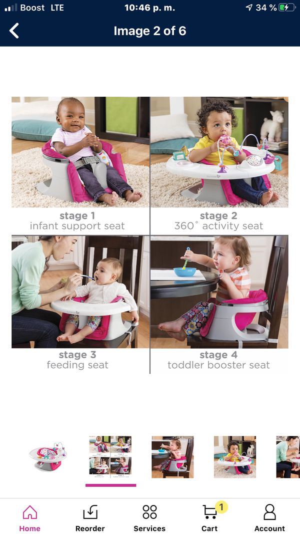 Super seat baby 4 in 1 new