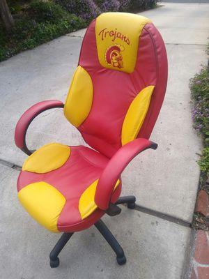 Trojans University Desk Chair in nice condition for Sale in Orange, CA