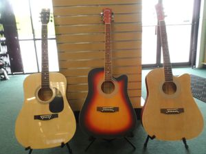 BRAND NEW ACOUSTIC GUITARS FOR SALE for Sale in San Antonio, TX