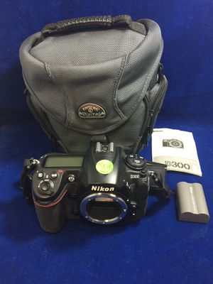 Nikon 12.3MP Digital SLR Camera | BODY ONLY (Model: D300) for Sale in Marietta, GA