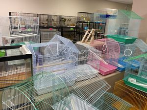 Bird cages, magnolia bird farm seed, bird toys and more for Sale in Hesperia, CA