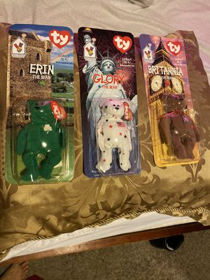 Collectible beanie babies for Sale in Berenda, CA