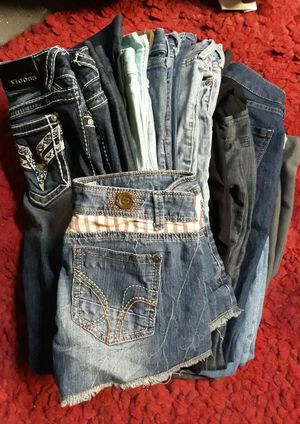 Pile of Size 1 Jean's & Bottoms for Sale in Las Vegas, NV