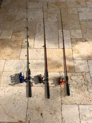 Fishing rods and reels for Sale in Miami, FL