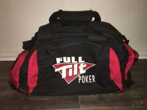 FULL TILT POKER OFFICIAL DUFFLE BAG/BACKPACK for Sale in Altamonte Springs, FL