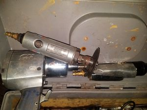3 air tools ratchet wrench ratchet gun and cutter. Set of 5 sockets 100 bucks obo for Sale in Columbus, OH
