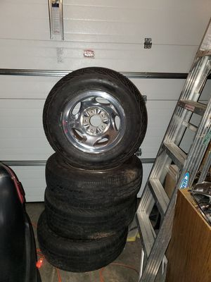Tires and rims for small truck for Sale in St. Peters, MO