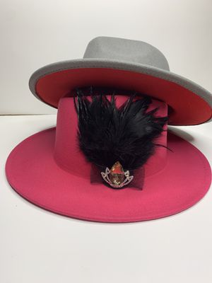 Gray r pink red bottom hats for Sale in Saint Charles, MO