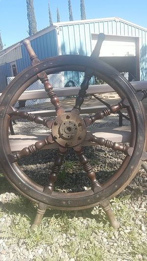 An Original Captain's Wheel for Sale in Lancaster, CA