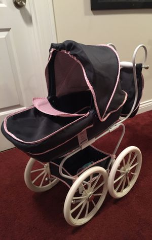 Doll stroller New beautiful Classic Navy Hauck classic for Sale in Franklin Park, IL