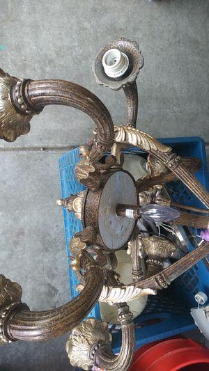 Lamp chandelier for Sale in Fontana, CA
