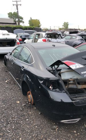 Selling parts for a black Mazda 6 for Sale in Detroit, MI