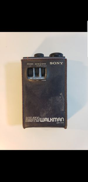RARE Sony SRF-70W AM/FM Walkman Radio for Sale in Feasterville-Trevose, PA