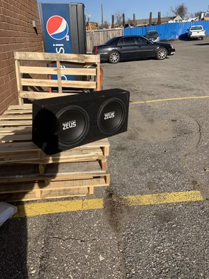 Hifonics zues 12 inch subs ported for Sale in Clinton, MD