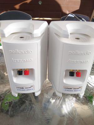 Polk audio indoor outdoor speakers for Sale in Westminster, CO