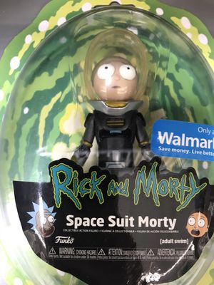 Funko Metallic Space Suit Rick and Morty 5 Inch Action Figure for Sale in Dallas, TX