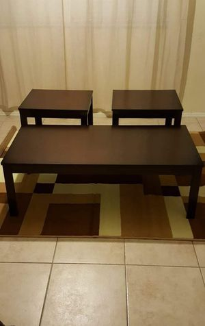 3 PIECE COFFEE TABLE SET BRAND NEW for Sale in Scottsdale, AZ