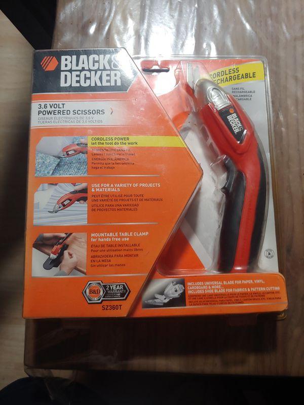 Black & Decker 3.6 Powered Scissors