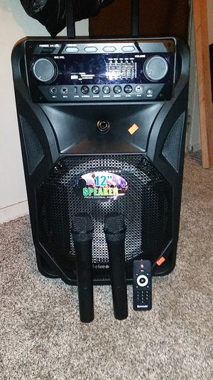 Meirende 12 speaker professional audio loud speaker nearly brand new for Sale in Columbus, OH