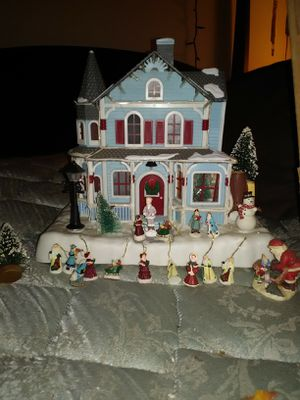 Christmas tree village for Sale in Lock Haven, PA