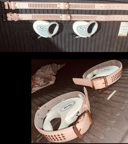 2 XLarge Collars And 2 Dog Leashes for Sale in Los Angeles,  CA