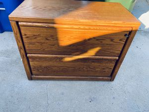 Solid Wood file cabinet for Sale in Chula Vista, CA