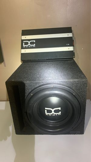 DC audio system, if youre ready to thump with style for Sale in Tacoma, WA