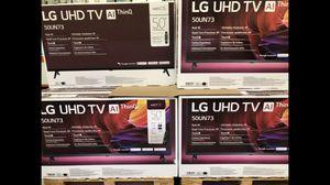 LG 50 inch 4K TV smart with Warranty for Sale in Diamond Bar, CA